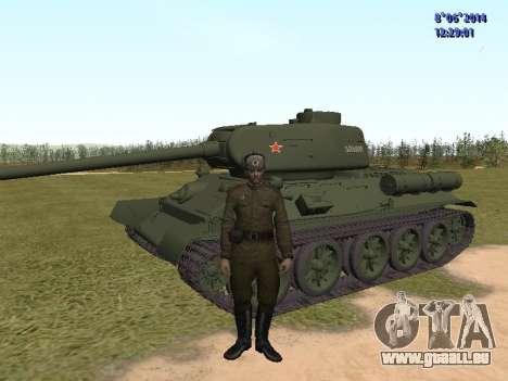 USSR Soldier Pack pour GTA San Andreas deuxième écran