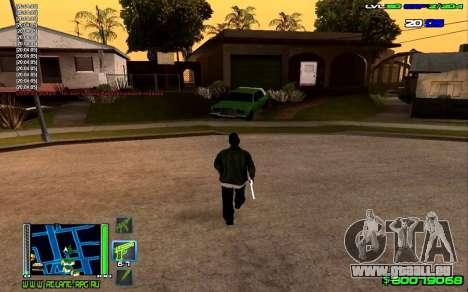 C-HUD Optimal pour GTA San Andreas