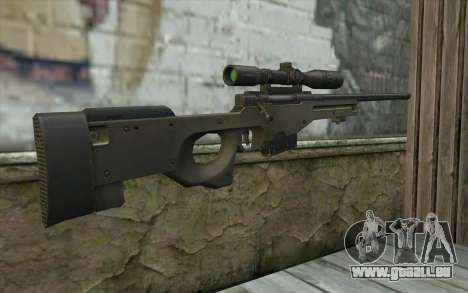 Arctic Warfare Super Magnum L115A1 für GTA San Andreas zweiten Screenshot