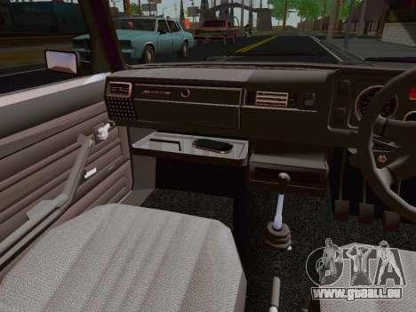 VAZ 2105 Riva pour GTA San Andreas vue arrière