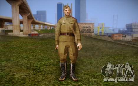 Sowjetische Soldaten für GTA San Andreas