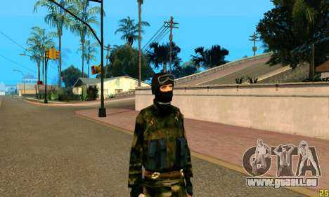 Fighter Alpha Antiterror für GTA San Andreas dritten Screenshot