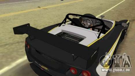 Lotus 2-Eleven für GTA Vice City Rückansicht