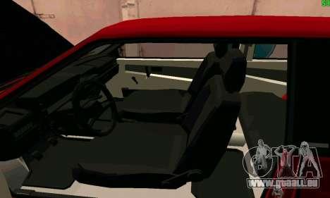 VAZ 2108 Turbo für GTA San Andreas obere Ansicht