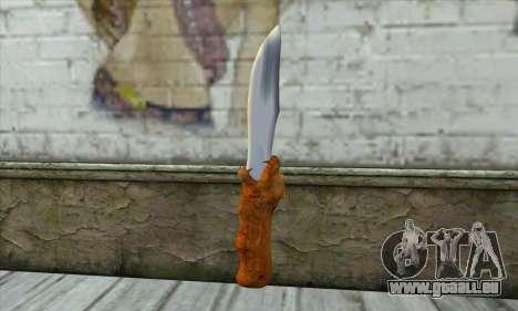 Couteau de collection pour GTA San Andreas