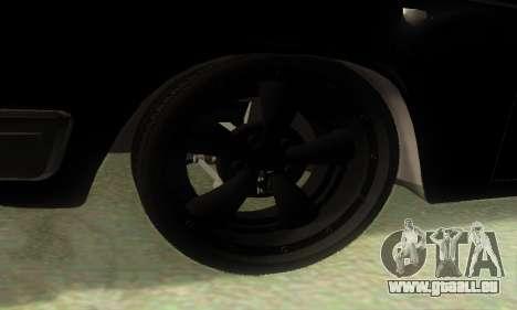 ГАЗ 3110 v8 MOPAR-Hot Rod pour GTA San Andreas sur la vue arrière gauche