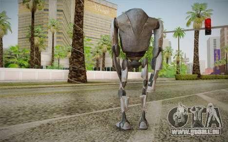 B2-Super Battle Droid skin pour GTA San Andreas deuxième écran