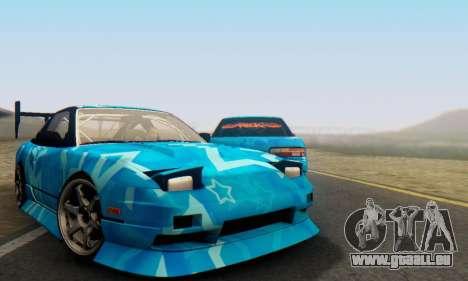 Nissan 240SX Blue Star für GTA San Andreas