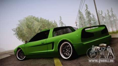 Infernus Racing Edition pour GTA San Andreas laissé vue