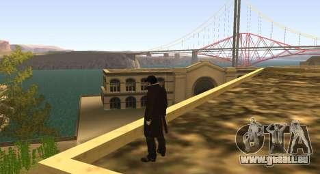 New Aiden Pearce pour GTA San Andreas troisième écran