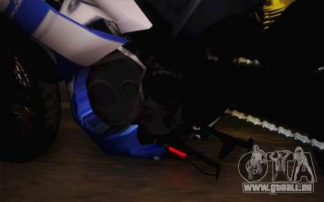 Yamaha YZF R15 für GTA San Andreas Rückansicht