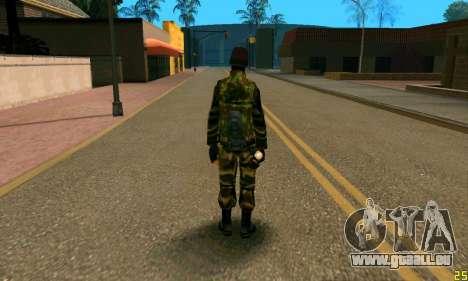 Fighter Alpha Antiterroriste A pour GTA San Andreas deuxième écran