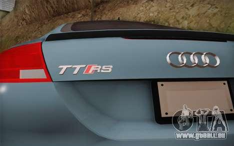 Audi TT RS 2011 pour GTA San Andreas vue de droite