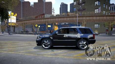 Cadillac Escalade für GTA 4 hinten links Ansicht