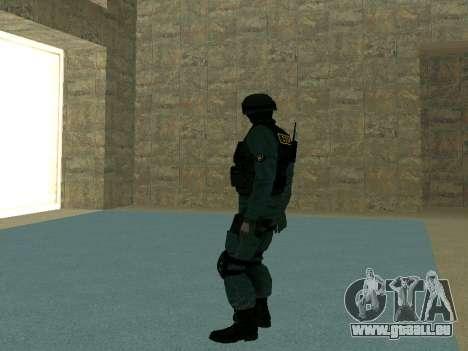 Haut SOBR für GTA San Andreas fünften Screenshot