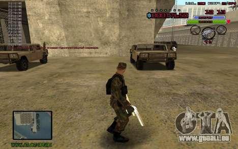 C-HUD by Mr.Bim pour GTA San Andreas deuxième écran