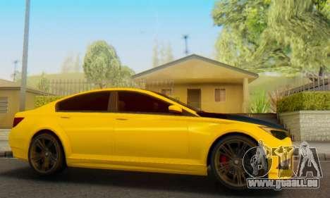 La supériorité de l'Oracle II - V.2 pour GTA San Andreas vue de droite