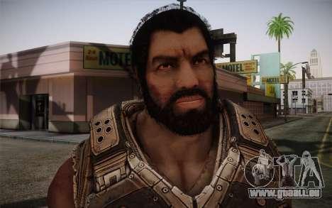 Dom From Gears of War 3 für GTA San Andreas dritten Screenshot