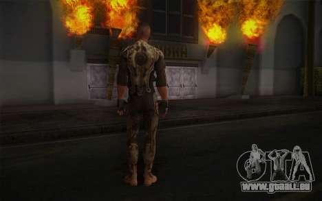 Le lieutenant Nicolas Raine из Rage pour GTA San Andreas deuxième écran