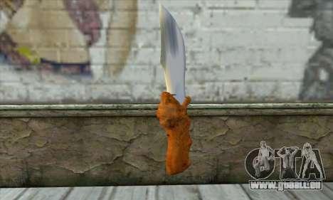 Couteau de collection pour GTA San Andreas deuxième écran