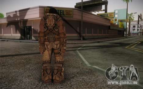 Dom From Gears of War 3 für GTA San Andreas zweiten Screenshot
