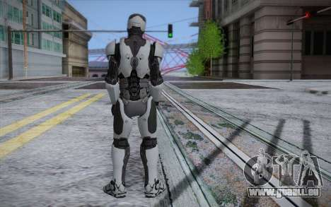 RoboCop 2014 pour GTA San Andreas deuxième écran