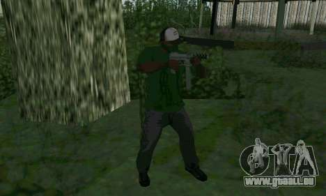 Les nouvelles fonctionnalités d'armes pour GTA San Andreas