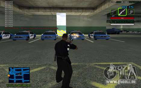 C-HUD by SampHack v.2 für GTA San Andreas dritten Screenshot