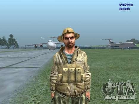 L'atmosphère de soldat de l'URSS pour GTA San Andreas