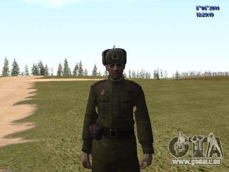 USSR Soldier Pack für GTA San Andreas fünften Screenshot