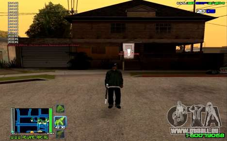 C-HUD Optimal pour GTA San Andreas quatrième écran