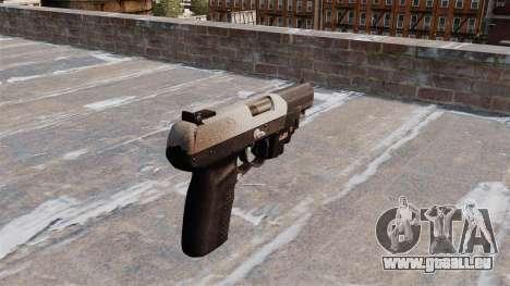 Pistolet FN Cinq à sept LAM Chrome pour GTA 4 secondes d'écran