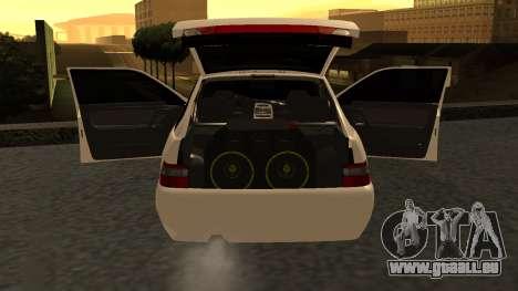 CES 2112 DANS pour GTA San Andreas laissé vue