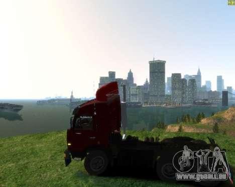 KamAZ-54115 für GTA 4 linke Ansicht