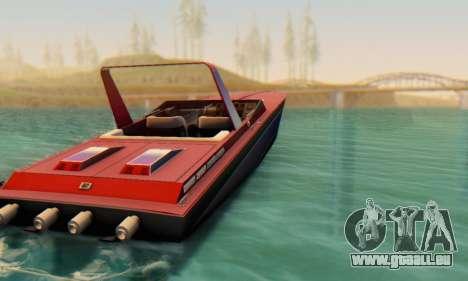 Wellcraft 38 Scarab KV für GTA San Andreas