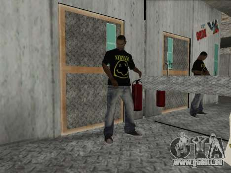 Neue Mike Nirvana und Kurt Cobain für GTA San Andreas zweiten Screenshot