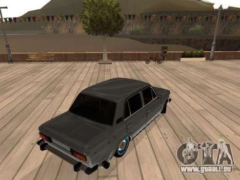 VAZ 2106 für GTA San Andreas linke Ansicht