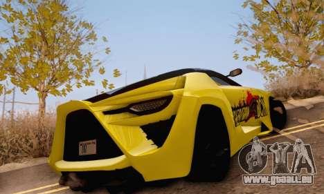 Bertone Mantide 2010 Rock Generation pour GTA San Andreas vue de droite