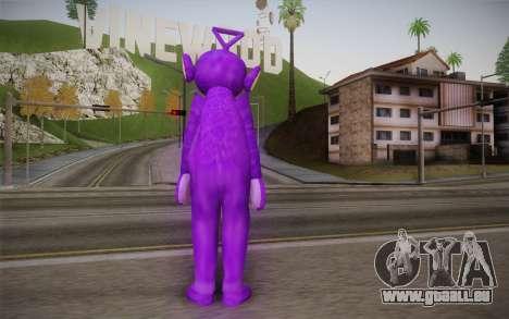 Les Coups De Pied-Winky (Teletubbies) pour GTA San Andreas deuxième écran