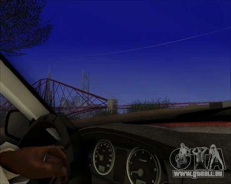 GAZ 31105 Accordables pour GTA San Andreas vue intérieure