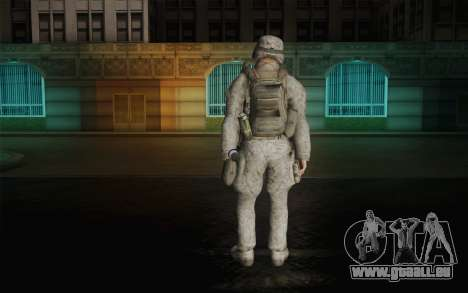 U.S. Marines pour GTA San Andreas deuxième écran