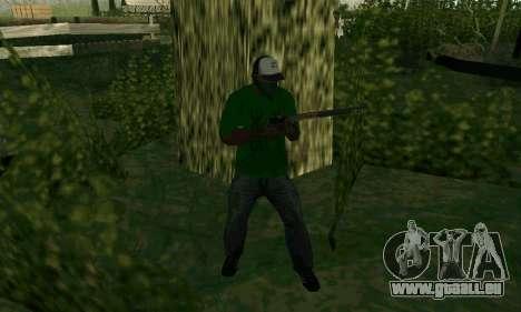 Les nouvelles fonctionnalités d'armes pour GTA San Andreas sixième écran