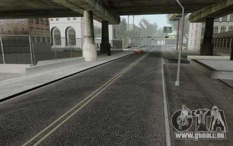 HD Roads 2014 pour GTA San Andreas deuxième écran