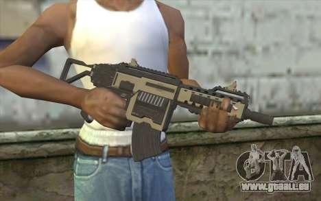 NS-11C Carbine from Planetside 2 pour GTA San Andreas troisième écran
