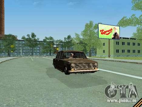 VAZ 2101 pour GTA San Andreas vue intérieure