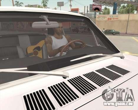 L'Animation en appuyant sur le signal pour GTA San Andreas sixième écran