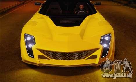 Bertone Mantide World Brasil 2010 pour GTA San Andreas vue de droite