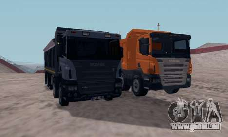 Scania P420 für GTA San Andreas Rückansicht