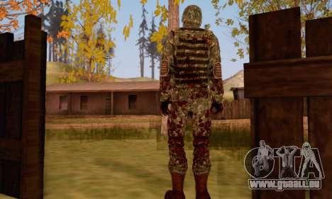 Zombie Soldier pour GTA San Andreas deuxième écran