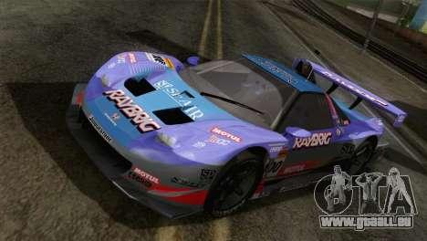 Honda NSX World Grand Prix für GTA San Andreas